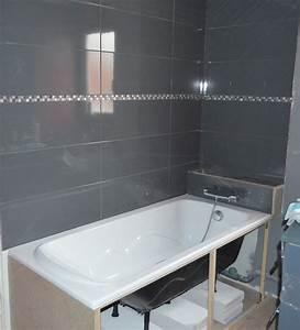 Baignoire Douche Leroy Merlin : separation baignoire wc ~ Dailycaller-alerts.com Idées de Décoration