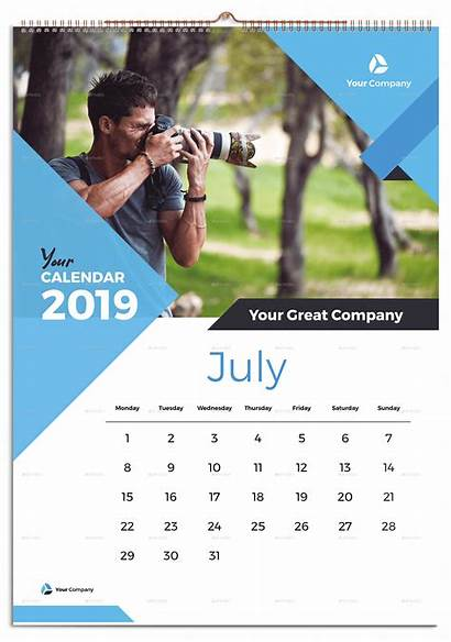 Calendar Wall Layout Printable Template Kalender Desain
