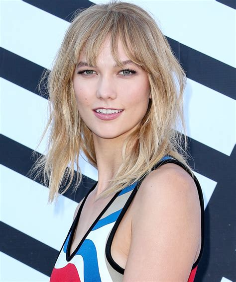 Karlie Kloss Shows Off Her Bangs Instagram Instyle