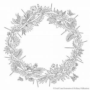 Love And The Crown Of Thorns Coloring Page Free Soul