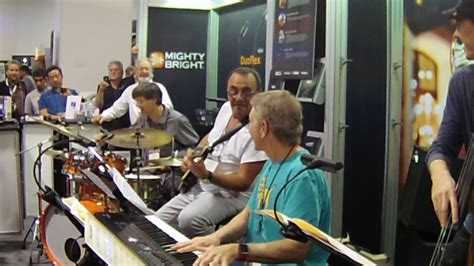 Dave Tull Drum Solo At Namm 2018 With Randy Waldman