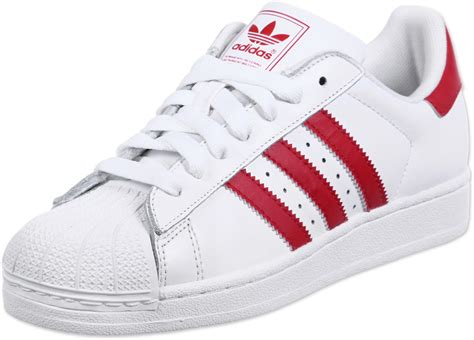 new products 9b933 5358a 1500 x 1077 www.stylefile.com. adidas Superstar 2 shoes white red
