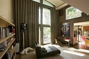 Rideaux Design Contemporain : rideaux modernes salon donnez un c t cocon la pi ce ~ Teatrodelosmanantiales.com Idées de Décoration