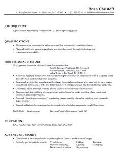 Resume Exles by Targeted Resume Format Work Resume Format