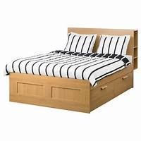 storage bed frame Double Beds, King & Super King Beds| IKEA Ireland - Dublin