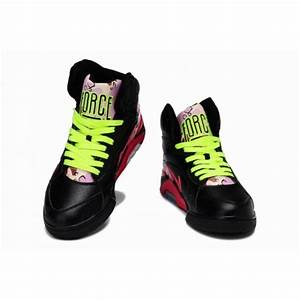 Newest Charles Barkley Shoes Nike Air Force 180 Mid Black ...