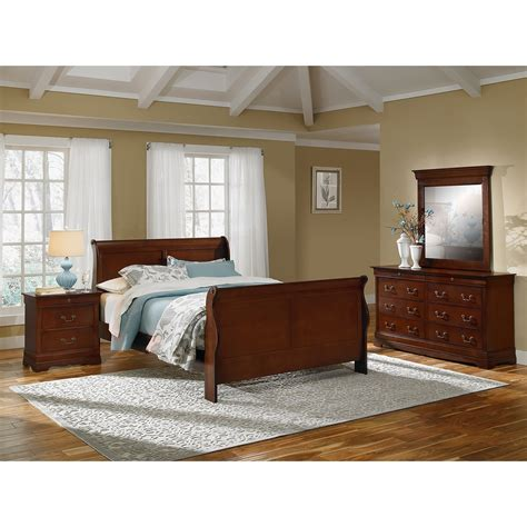 American Signature Furniture Bedroom Sets by Neo Classic 6 King Bedroom Set Cherry American