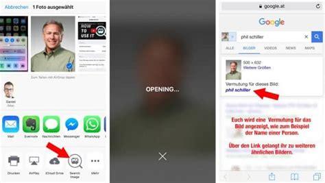umgekehrte google bildersuche  iphone nutzen