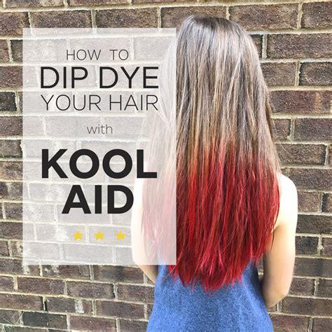 Kool Aid Hair Dye — Home Again Creative
