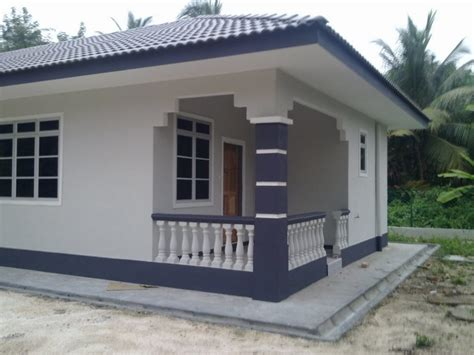 cat luar rumah warna kelabu desainrumahidcom
