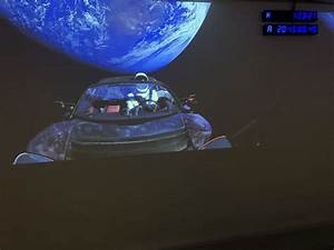 Tesla Dans Lespace : elon musk envoie sa tesla roadster dans l espace en direction de mars challenges ~ Nature-et-papiers.com Idées de Décoration