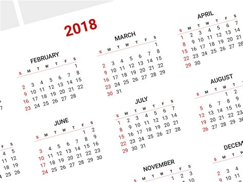 photo calendar template photo calendar template for 2018 year printable wall calendar