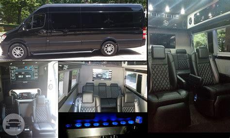 8 Seater Passenger Luxury Mercedes Benz Sprinter Limo Van