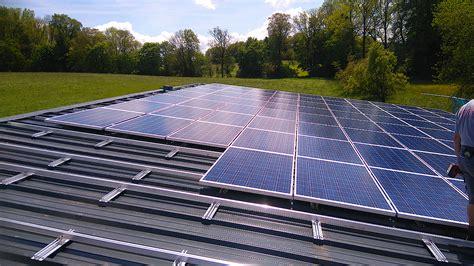 Lagesicherung Pv Anlagen Auf Flachdaechern by Photovoltaik Stockinger Bau Gmbh