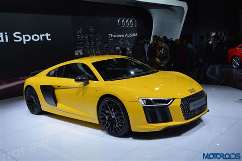 Allnew Audi R8 V10 Launched In India; Prices Start At Inr