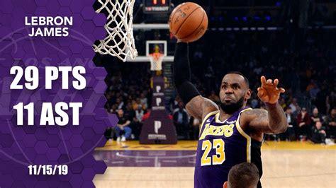 LeBron James dunks all over Nemanja Bjelica in Lakers vs ...