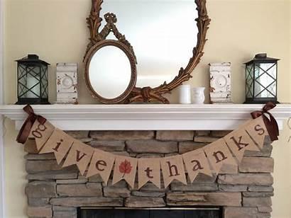 Thanksgiving Handmade Decoration Thanks Give Banner Architectureartdesigns