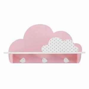 Patere Chambre Fille : great patre crochets nuage rose bird song with patere chambre fille ~ Teatrodelosmanantiales.com Idées de Décoration
