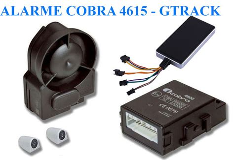 alarme cobra 4615 traceur gps imotrack cabriolet utilitaire