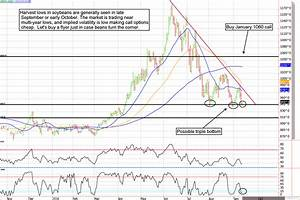 Soybean Cash Price Chart Decarley Trading Commodity Broker Options Futures
