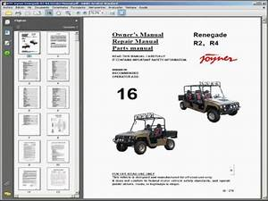Joyner Renegade R2-r4 Utv - Service Manual