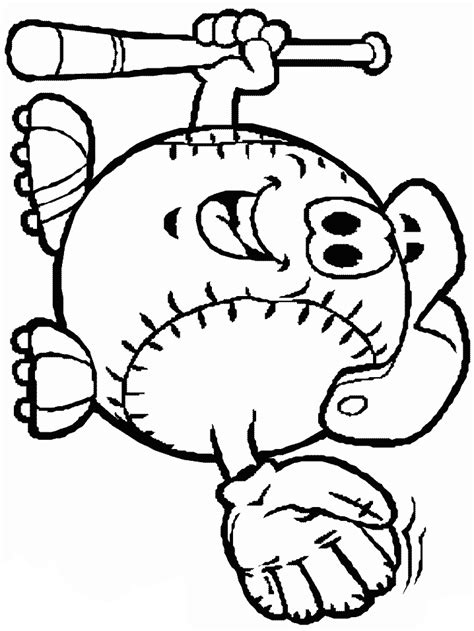 baseball coloring pages coloring pages  print