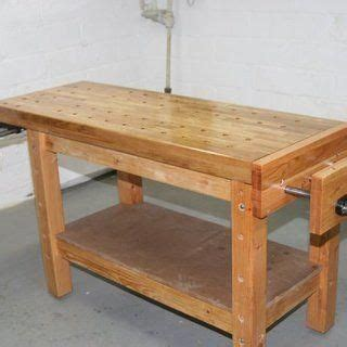 building  real woodworkers workbench woodworking bench