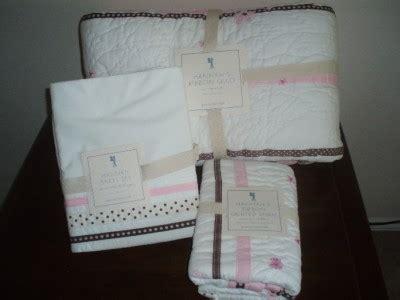 Pottery Barn Ribbon by Pottery Barn Ribbon Quilt W Sham Sheet