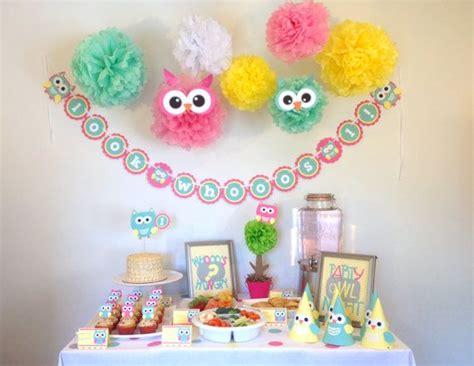ideas  owl party decorations  pinterest