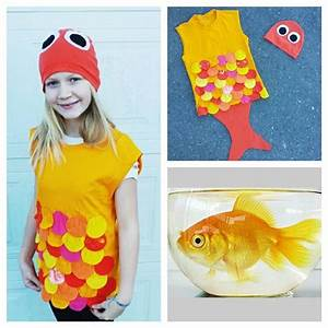 Kostüm Fisch Kind : upcycled steampunk clothing gold fish costume upcycled orange and yellow t shirts the little ~ Buech-reservation.com Haus und Dekorationen