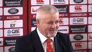 British & Irish Lions - Warren Gatland Press Conference ...