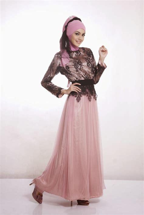 gambar contoh model baju muslim kebaya modern terbaik