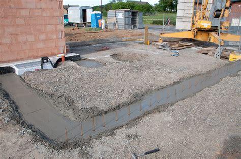 Die Bodenplatte Selbst Betonieren Auf Den Fundamentplan Kommt Es An by Fundament F 252 R Die Garage Gegossen Ab Auf Den Westerwald