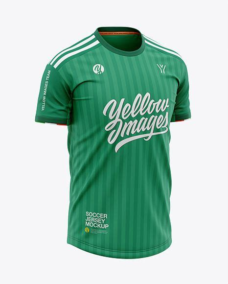 You will find a wide variety of 20+ best jersey mockup psd templates on our website for you to pick the best one for you. Men's Crew Neck Soccer Jersey Mockup - Front Half-Side ...