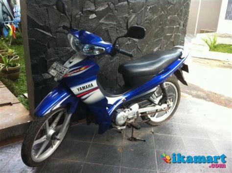Motor Jupiter 2005 by Yamaha Jupiter Z Cw 2005 Biru Tangan 1 Motor Bekas