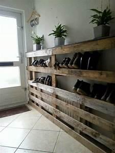 Dressing En Palette : 13 astuces pour ranger vos chaussures bricolage maison ~ Melissatoandfro.com Idées de Décoration