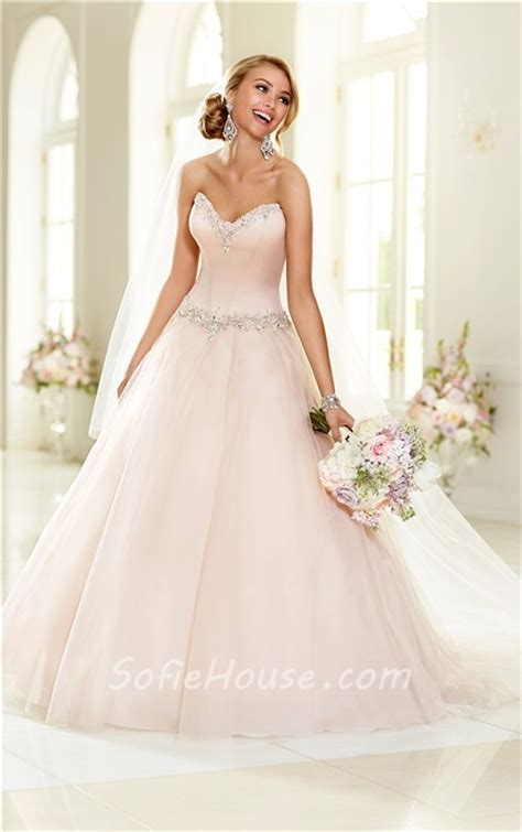 Ball Gown Strapless Blush Pink Colored Satin Tulle Wedding. Long Dresses As Wedding Guest. Wedding Dresses With Corset. Designer Winter Wedding Dresses 2014. Red Deer Wedding Dress Alterations. Backless Wedding Dresses Manchester. Summer Wedding Dresses Vancouver. Halter Top Wedding Dress Necklace. Plus Size Informal Wedding Dresses Under 100