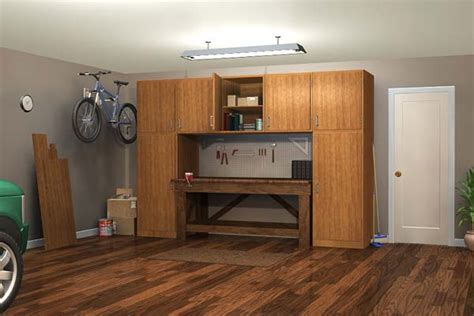 inexpensive kitchen cabinets for project plan 70001 workbench w cabinets 7526