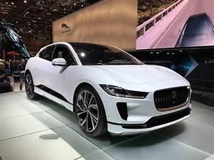 Tesla 4x4 Prix : jaguar i pace premier 100 lectrique du f lin vid o en live du salon de gen ve 2018 ~ Gottalentnigeria.com Avis de Voitures
