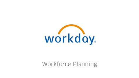 Workday Planning for your Workforce - YouTube