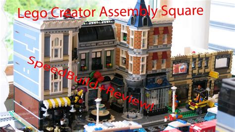 Lego Creator Assembly Square Set 10255 - Speed Build ...
