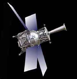 Image of the Gravity Probe B spacecraft