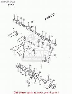 Governor Assy Exhaust Valve For Rm80 2000  Y  Usa  E03