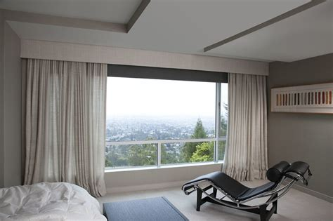 bedroom curtains modern roller shades san francisco