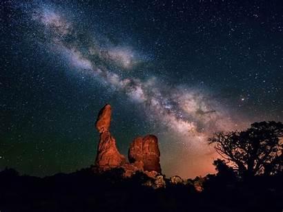 Scenery Night Galaxy Wallpapers 10wallpaper Landscape