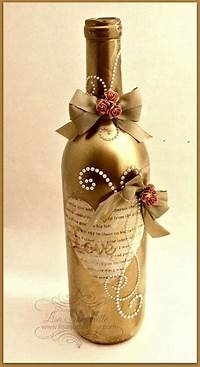 decorating wine bottles 25+ best ideas about Wine Bottle Decorations on Pinterest ...