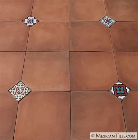 Mexican Tile   Tierra Floor Tile Cut Edge