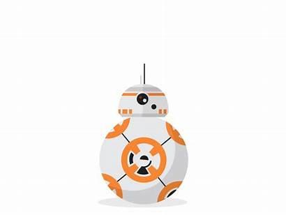 R2 D2 Bb Dribbble Bb8 Wars Droid