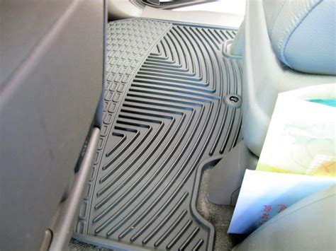weathertech all weather front floor mats black