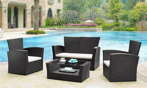 divanetti giardino set divanetti da giardino groupon goods